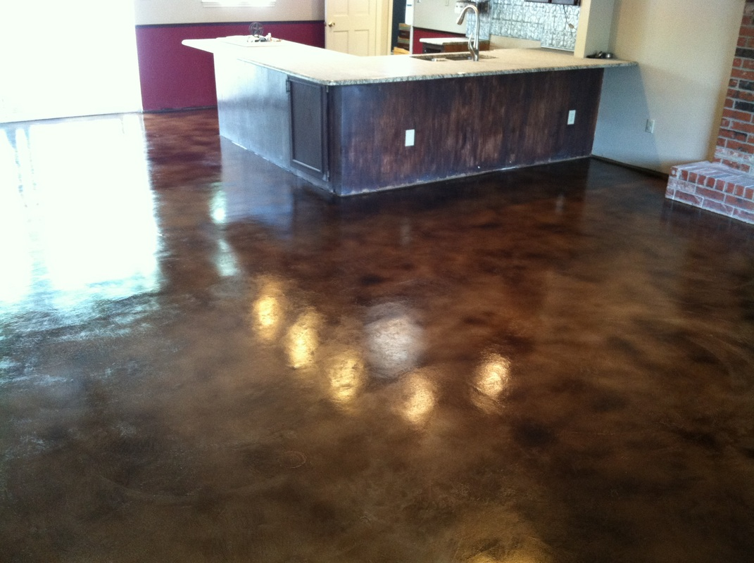 Abilene Concrete Staining Solid Impressions